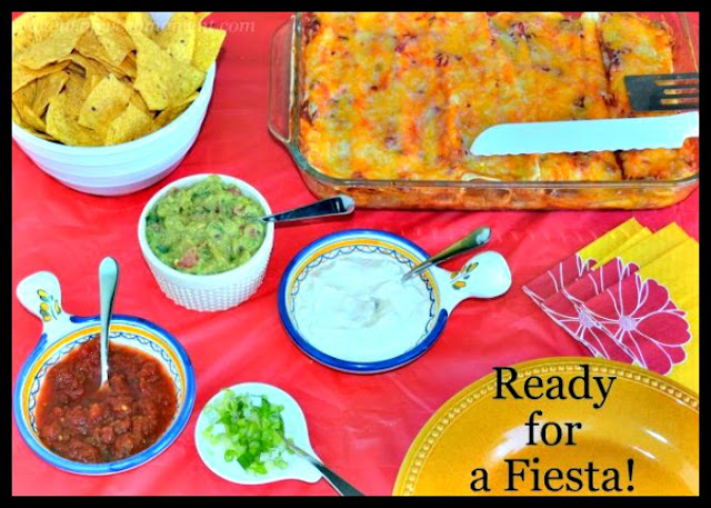 My chicken enchilada recipe