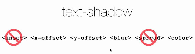 Value text shadow - Web Desain