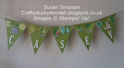 Animal Outing, Craftyduckydoodah!, Global Stamping Friends Hop, Home decor, Stampin' Up! UK Independent  Demonstrator Susan Simpson, Supplies available 24/7 from my online store, Tropical Chic,