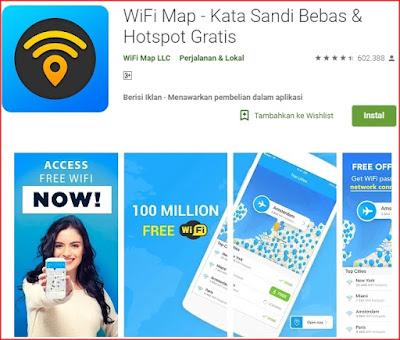 Cara Menggunakan Wifi MAP