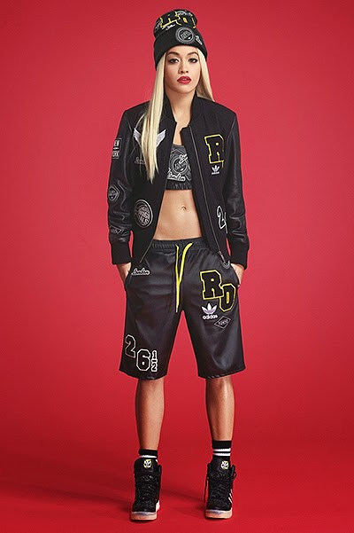 Rita Ora in the campaign Adidas Original