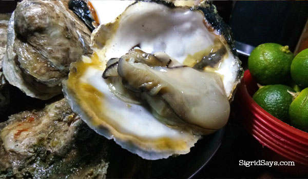 Bacolod talaba at Lion's Park Grill Haus - Bacolod restaurant
