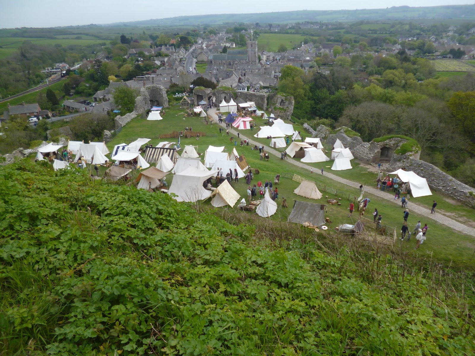 lebellelavie - Living with Vikings & a trip to Corfe Castle