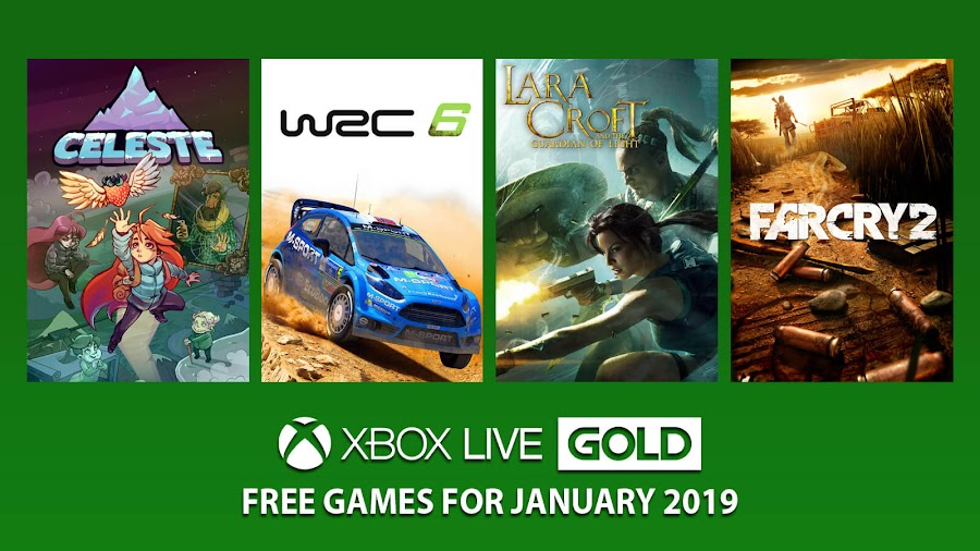 xbox live gold free games january 2019
