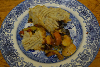 Plate of skirret shepherd's pie