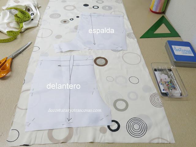 como coser un short lencero