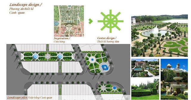 Ý tưởng thiết kế cảnh quan đô thị Louis City