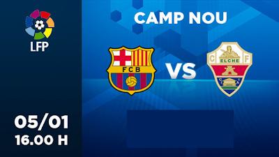 Barcelona vs Elche en Vivo