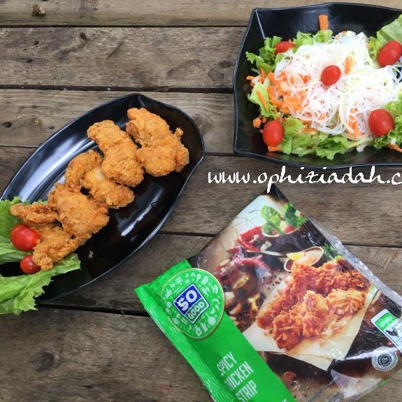 Cara Seru dan Sehat Menikmati So Good Spicy Chicken Strip