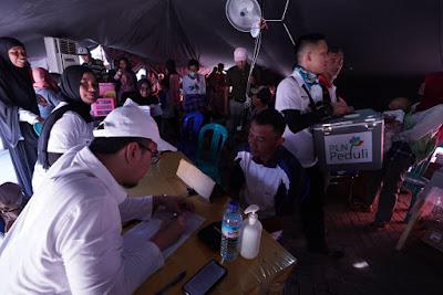 PLN Peduli dan RSCM Kerjasama Bakti Sosial Untuk Warga Lombok