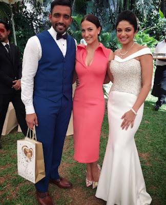 Eli Avaram in Robin Uthappa wedding