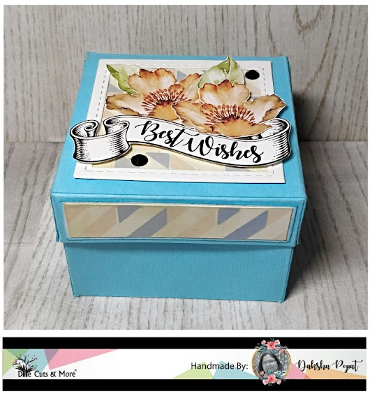 Gift box with note cards -DCAM