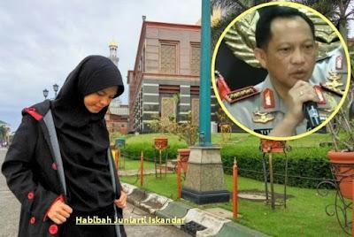 SURAT Untuk Pak Kapolri Jenderal Tito dari Putri Sriwijaya