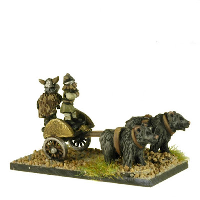 FNT601 Barbarian Chariots pulled by Bears x3