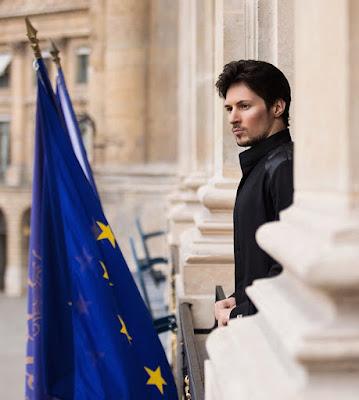 Telegram founder Pavel Durov cryptomartez
