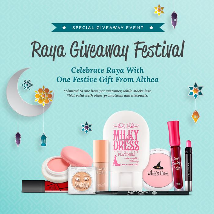 althea raya giveaway festival