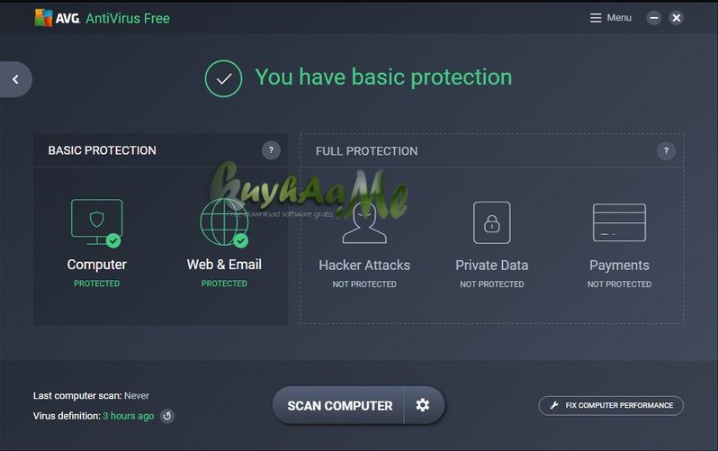 AVG Anti-Virus Free terbaru