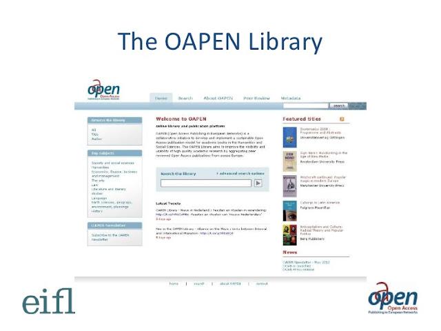 web oapen library