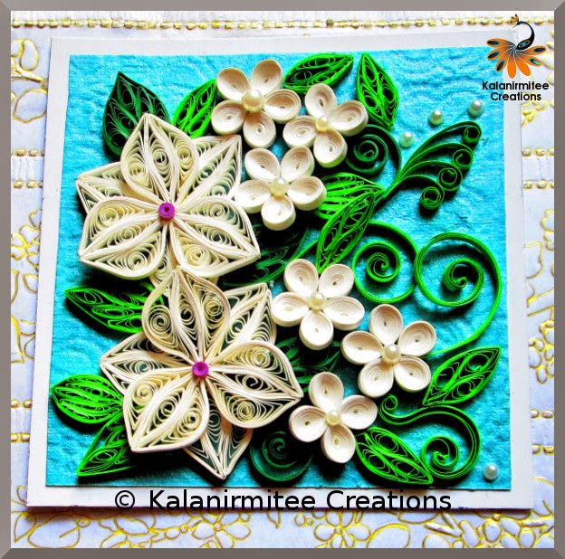 kalanirmitee: Paper quilling- quilled flowers- quilled leaves- quilled projects