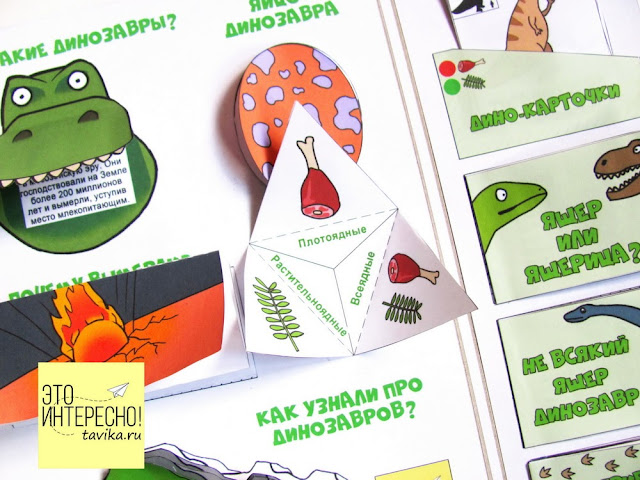 lapbook Dinosaurs