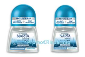 Logo Diventa tester Deodorante uomo Narta