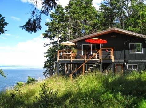 Mayne Island Canada cottage