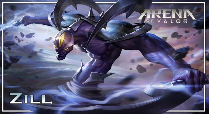 zill arena of valor build & guide