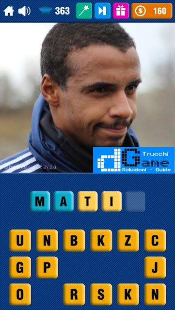 Calcio Quiz 2017 soluzione livello 361-370 | Parola e foto