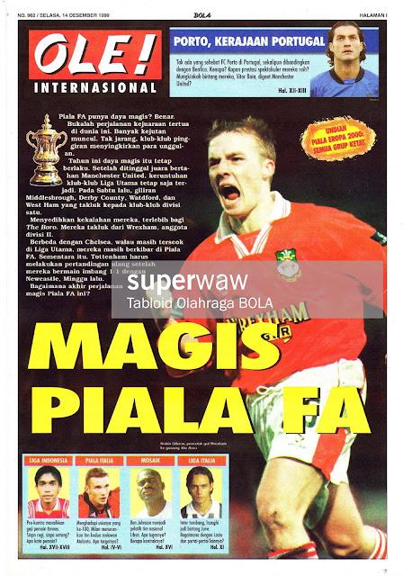 OLE! INTERNASIONAL: MAGIS PIALA FA