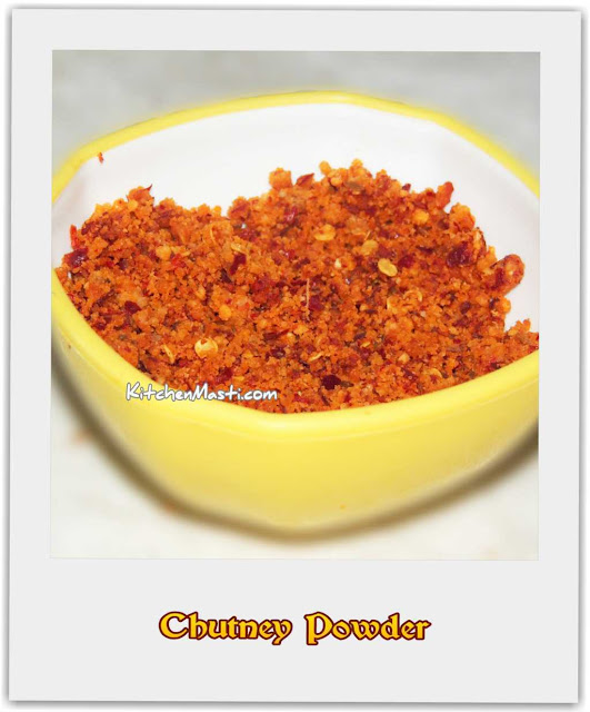 chutney Powder Pudi