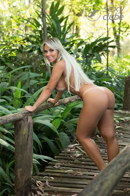 Sexy divulga novas fotos do ensaio quente com a 'musa das academias'