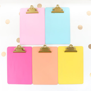 http://www.akailochiclife.com/2016/09/diy-it-colorful-clipboard-wall-art.html