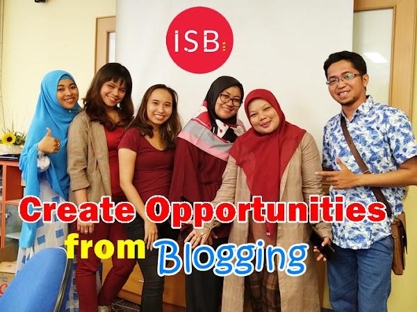 Ciptakan Peluangmu lewat Ngeblog