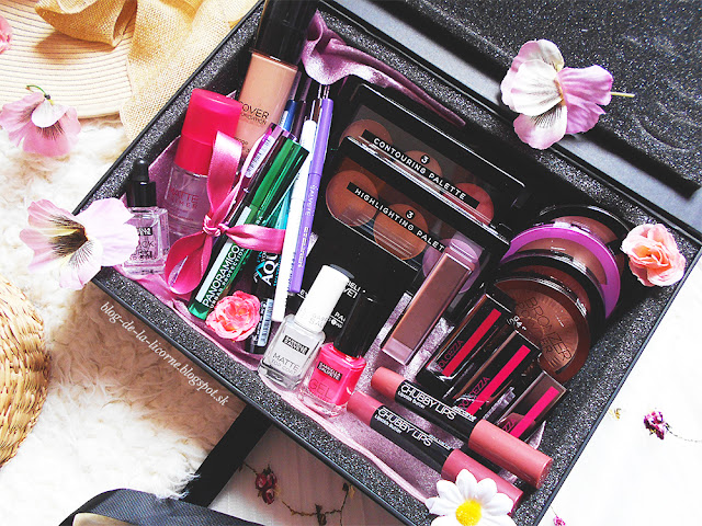 Gabriella Salvete Makeup Box recenzia