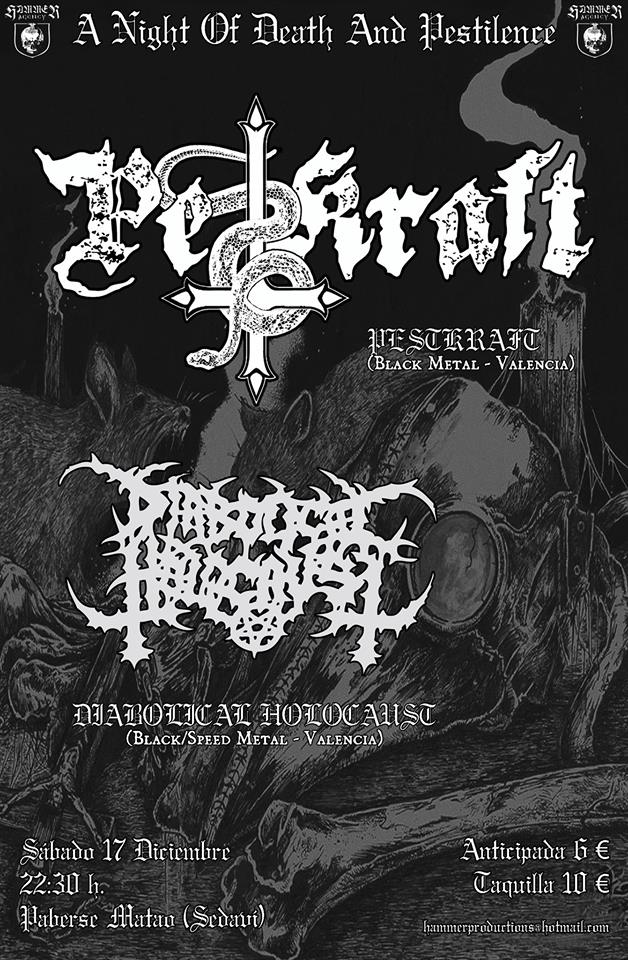 Ruido noise pestkraft diabolical holocaust paberse for Sala hollander