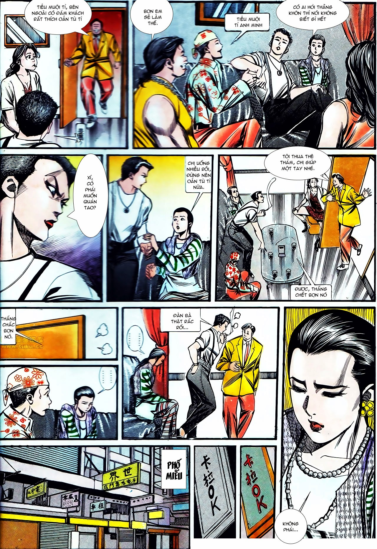 Người Trong Giang Hồ chapter 130: cô ta đến từ giang hồ trang 10