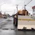 Retiran muros que bloqueaban la calle primera en Matamoros.