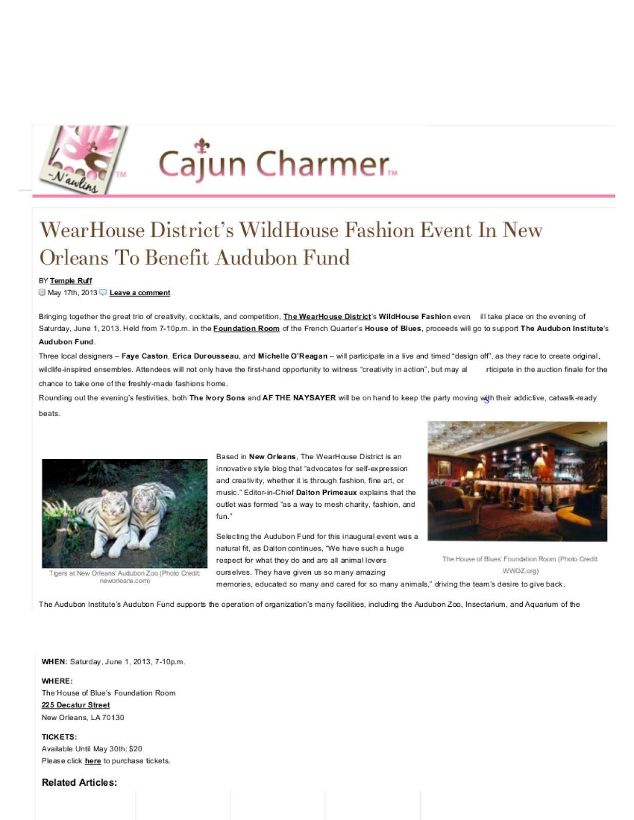 Cajun Charmer Press