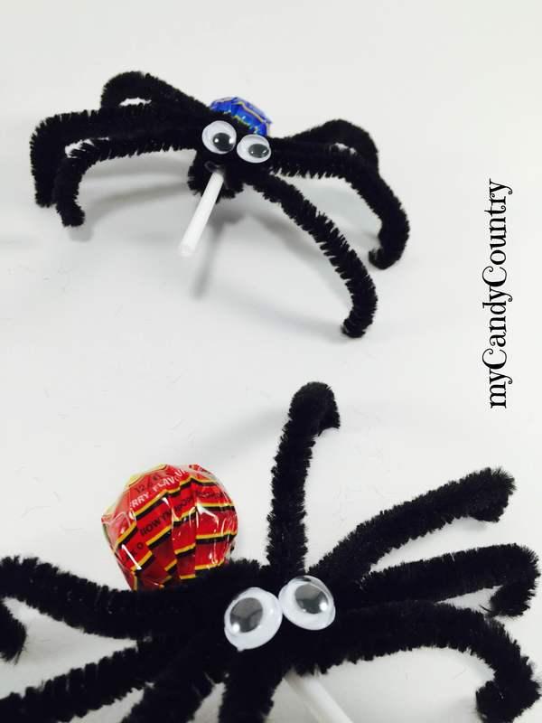 Halloween fai da te: come fare i lecca lecca ragno