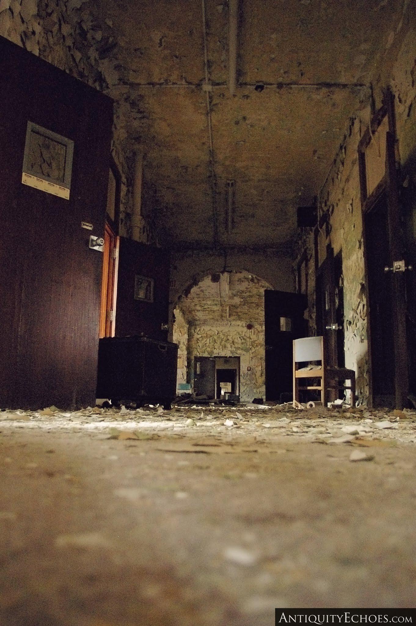 Overbrook Asylum - Building Four Corridor