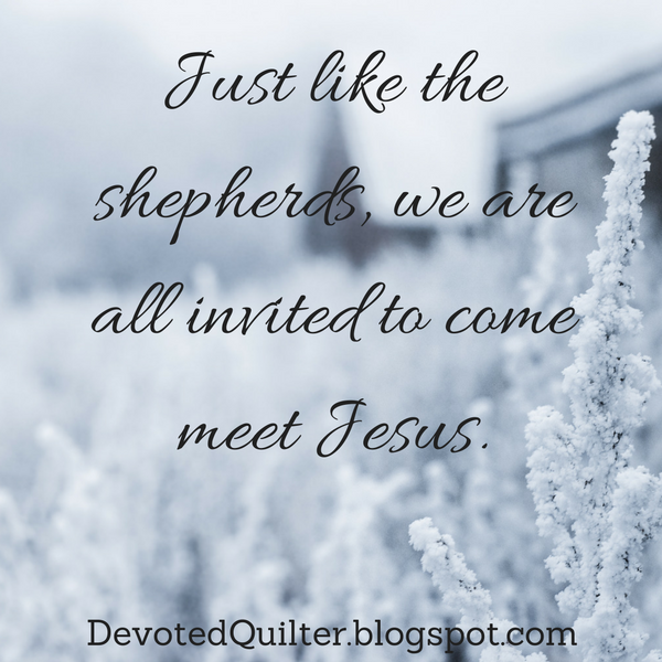 Weekly Christian devotions | DevotedQuilter.blogspot.com
