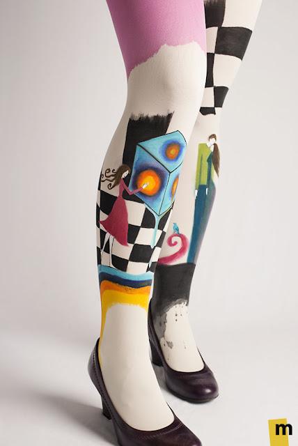 lukisan kaki paling keren kreatif unik dan juga sangat indah-2
