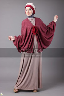 Busana Muslim Cardigan