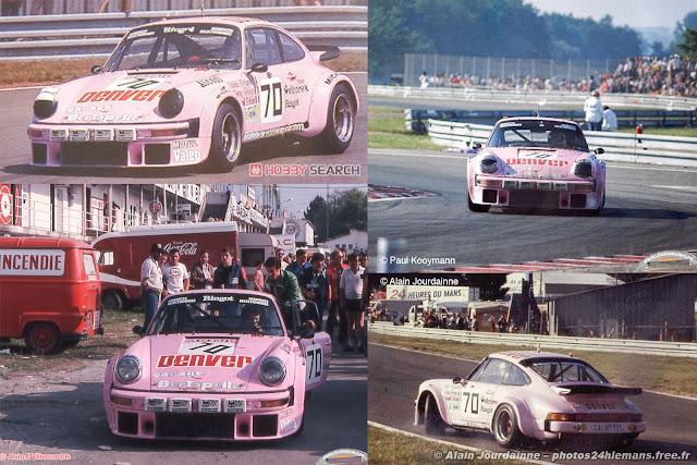 Porsche 934 24h Le Mans Class Winner #70 1981