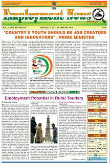 This Week Employment News Paper PDF Download (20th January to 26th January 2018