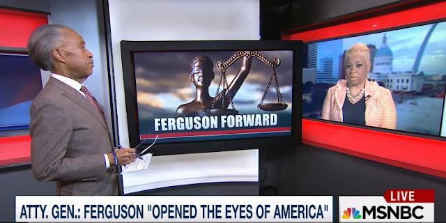 Al Sharpton Patricia Bynes Ferguson PoliticsNation