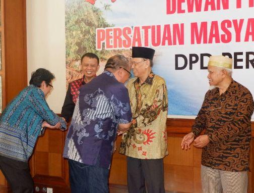 Sekda Selayar, Hadiri Halal Bi Halal DPD Permas Jakarta