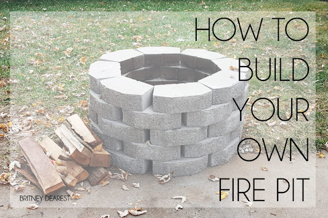 fire pit, how to, build, DIY, do it yourself, fire place, easy, quick, cheap