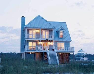 แบบบ้านไม้ยกพื้นสูง