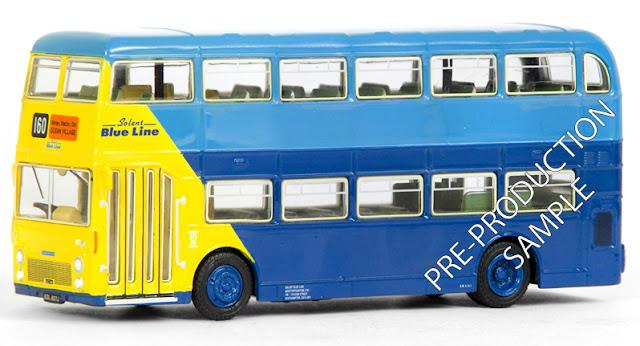 EFE PRE-PRO SAMPLE 38122 - Bristol VRT - Solent Blueline Registration number SDL 637J, fleet number 07. Operates route 160 to Ocean Village. Scheduled for an September release -  RRP £34.50